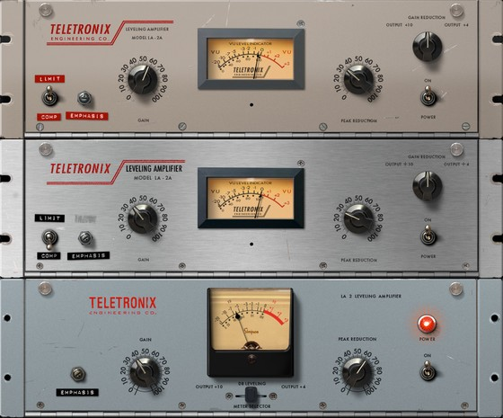 Teletronix LA-2A Classic Leveler Plug-In Collection